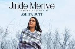 Jinde Meriye Lyrics Ashita Dutt