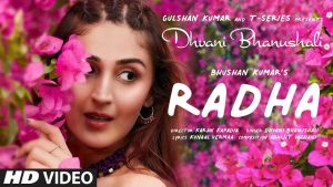 Radha Song Download   Dhvani Bhanushali